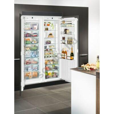 Liebherr SBS70I4 (001) Premium BioFresh NoFrost IceMaker beépíthető side by side hűtő A++/A+++ 211/90/209L SIGN 3576 fagyasztó / IKBP 3560 hűtő