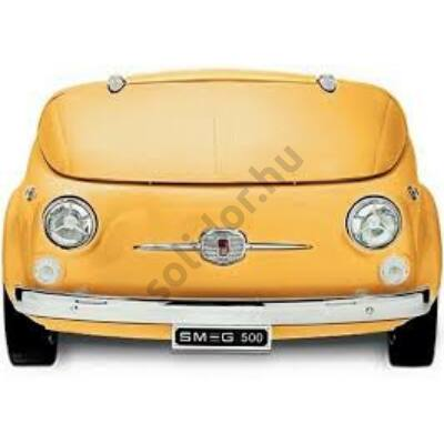 Smeg SMEG 500G bárhűtő Fiat 500 retro design sárga
