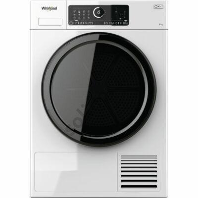 Whirlpool ST U 92E EU hőszivattyús szárítógép A++ 9kg fekete ajtó fekete kerettel