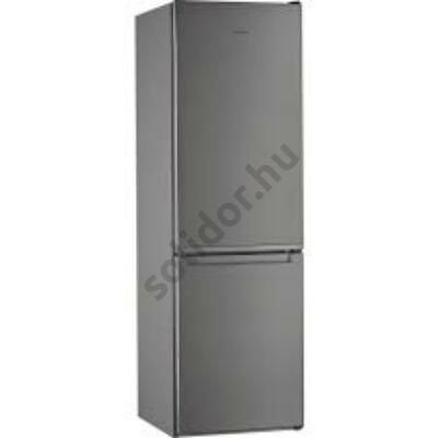 Whirlpool W5 821E OX alulfagyasztós hűtő inox E 228+111L 189x60x66cm