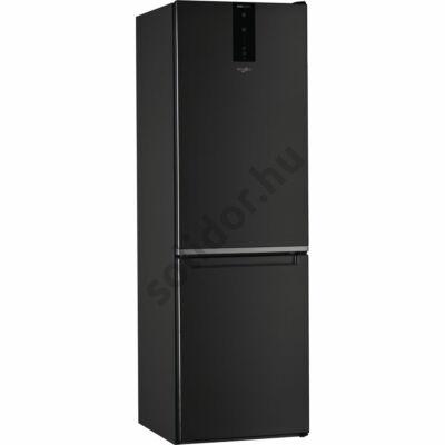 Whirlpool W7 821O K alulfagyasztós fekete NoFrost A+++ hűtő 190x60x65cm