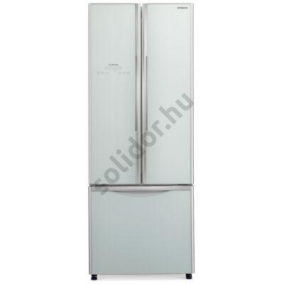 Hitachi WB480PRU2.GS 3 ajtós side by side hűtő A+ 382L ezüst üveg