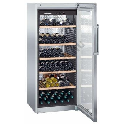 Liebherr WKes4552 GrandCru bortemperáló borhűtő  201 palack 165x70x74cm