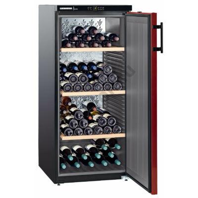 Lieherr WKr3211 Vinothek borklíma borhűtő 164 palack A++ 135x60x74cm