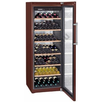 Liebherr WKt5552 GrandCru borklíma borhűtő üvegajtós 253 palack  192x70x74cm