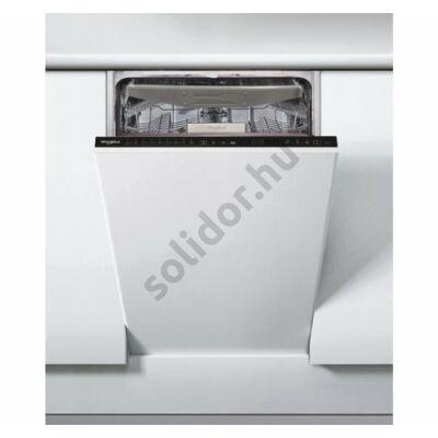Whirlpool WSIP 4O23 PFE teljesen beépíthető mosogatógép 45cm A++ 10 teríték 3. evőeszköztartó tálca PowerClean