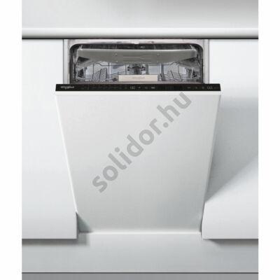 Whirlpool WSIP 4O33 PFE teljesen beépíthető mosogatógép 45cm A+++ 10 teríték 3. evőeszköztartó tálca PowerClean
