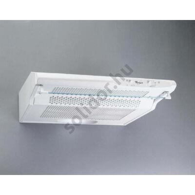 Whirlpool WSLCSE55ASW falra vagy felsőszekrény alá szerelhető kivitel fehér 50cm max.elszívóteljesítmény 175 m3/h