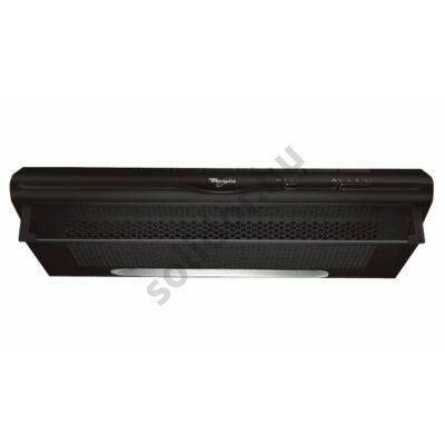Whirlpool WSLCSE65ASK falra vagy felsőszekrény alá szerelhető kivitel fekete 60cm max.elszívóteljesítmény 175 m3/h