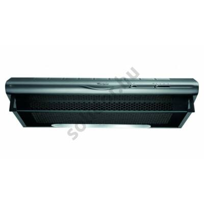 Whirlpool WSLCSE65ASX falra vagy felsőszekrény alá szerelhető kivitel inox 60cm max.elszívóteljesítmény 175 m3/h