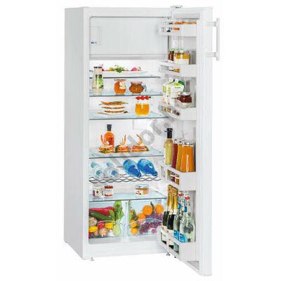 Liebherr K2814 Comfort  A++ 229/21L egyajtós hűtő fehér belső fagyasztóval 140,2/55/62,9 cm