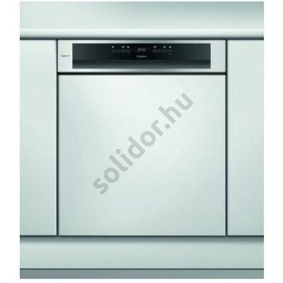 Whirlpool WBO3T333DFI beépíthető mosogatógép iXelium® felületű inox A+++ 1 órás mosogatás & szárítás