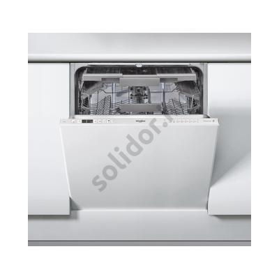 Whirlpool WIC3C23PEF teljesen beépíthető mosogatógép A++  3. evőeszközkosár PowerClean Pro