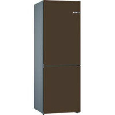 Bosch KVN36ID3A VarioStyle NoFrost Eszpresszó barna színű ajtóborítással alulfagyasztós hűtő E 186x60x65cm