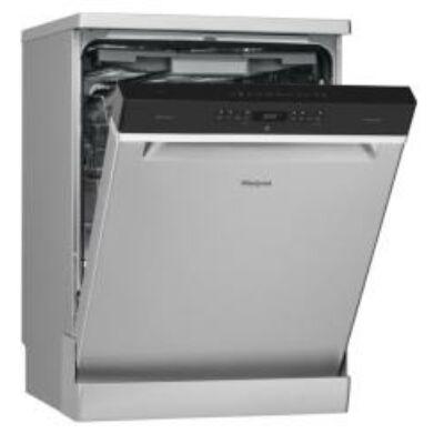 Whirlpool WFO3O33DLX szabadonálló mosogatógép inox, evőeszköztartó fiók PowerClean PowerDry A+++ 14 teriték 60cm