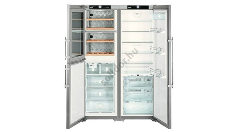 liebherr sbses7165 premiumplus vinidor biofresh nofrost icemaker side by side nemesac l h t a. Black Bedroom Furniture Sets. Home Design Ideas